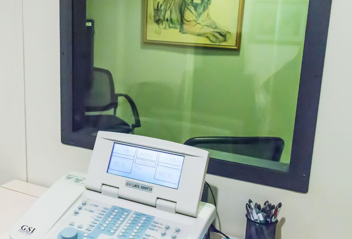 The Hearing Center Hearing Testing Room